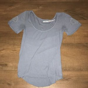 Urban outfitters blue short sleeve